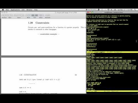 Literate Programming Example With Clojure