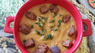 Испанский суп -  пюре из кабачков
