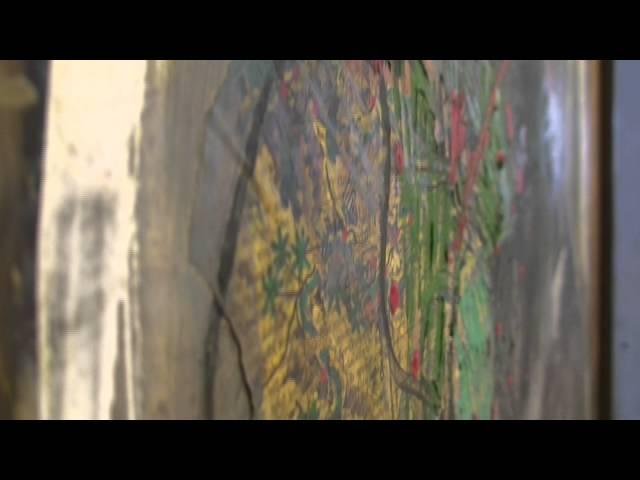 Juliaus Zarecko ankstyvosios tapybos parodos video peržiūra (Ukmergės muziejus, 2014 balandis)