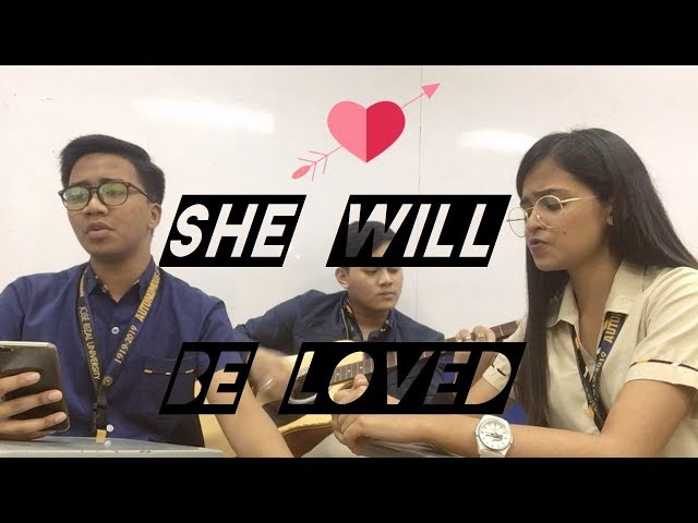 She Will Be Loved | Song Cover by Vashti