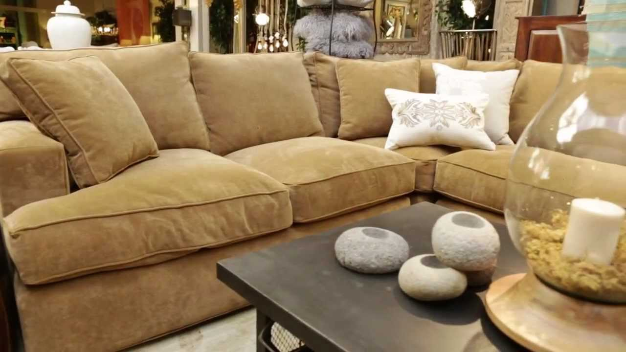 Arhaus Upholstery Customizable Fabric Upholstery Youtube