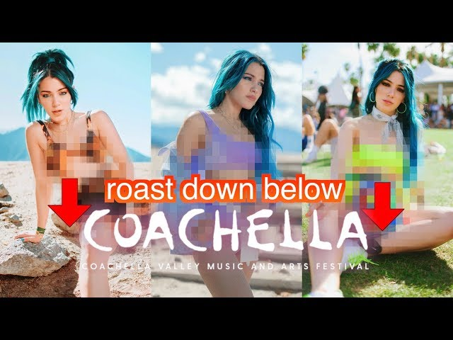 Roast my Coachella Outfits 2019 *interactive*