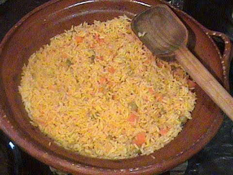 Como preparar arroz rojo youtube for Como cocinar arroz