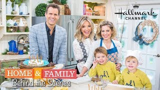 BEHIND THE SCENES AT HOME AND FAMILY -  HALLMARK CHANNEL - WITH CANDACE CAMERON BURE