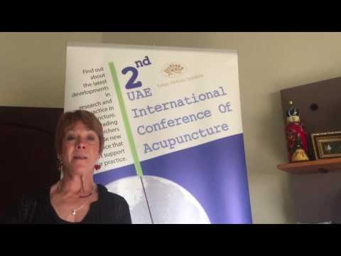 2nd UAE Conference Of Acupuncture - Diane Cridenna
