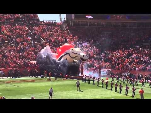 Arizona Cardinals at Denver Broncos - Player Intros - Sports Authority Field - Denver, CO