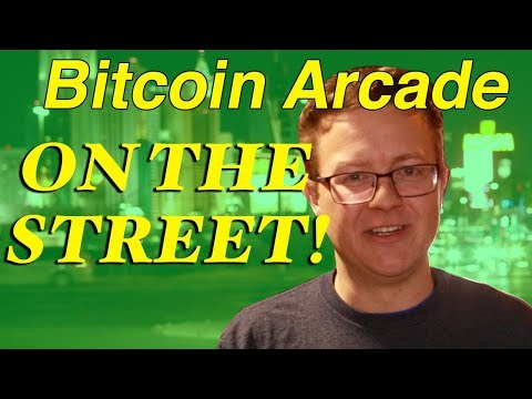 What Is Bitcoin? - Bitcoin Arcade On The Street (funny!)