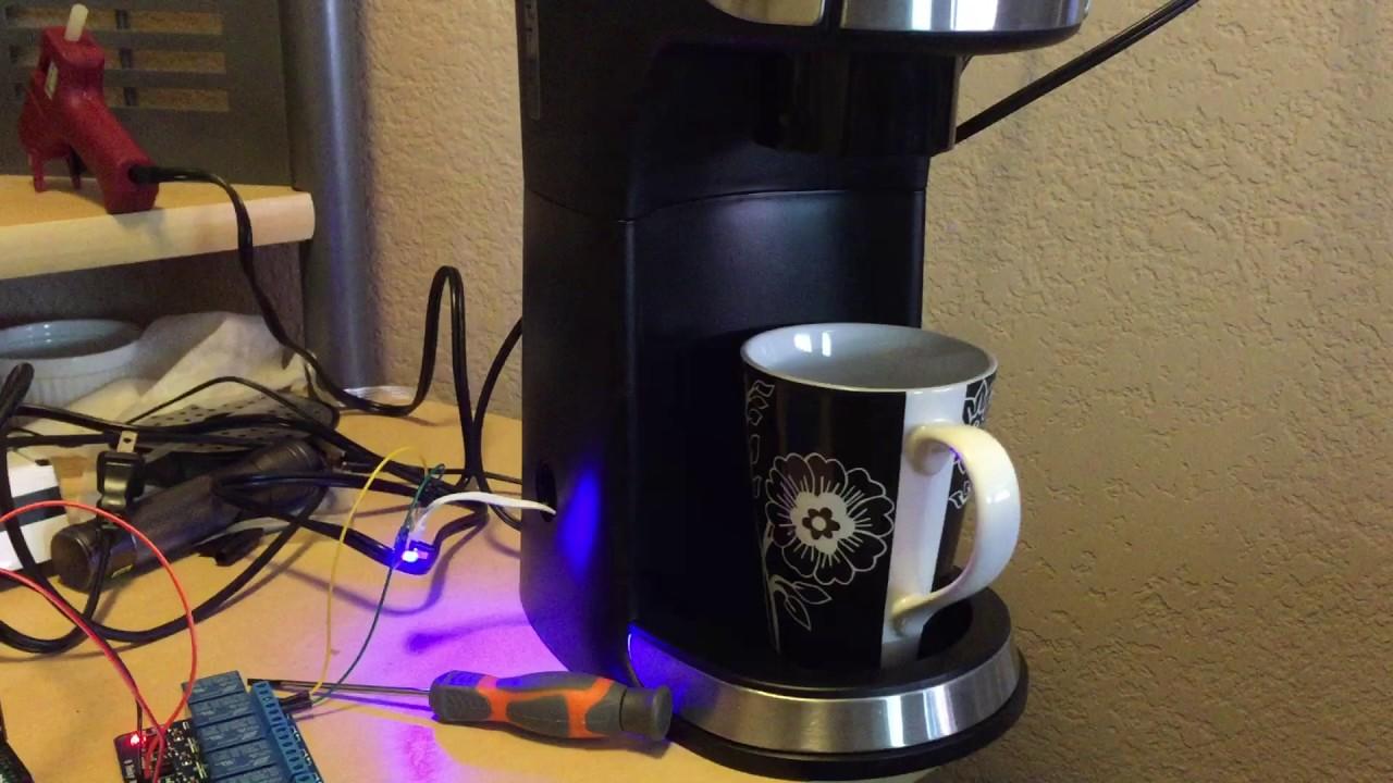 Alexa Coffee Maker - YouTube