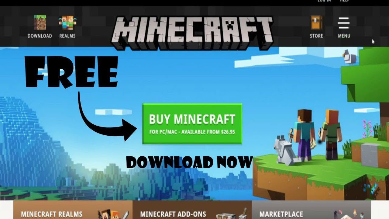 how to download minecraft java edition for free on pc and