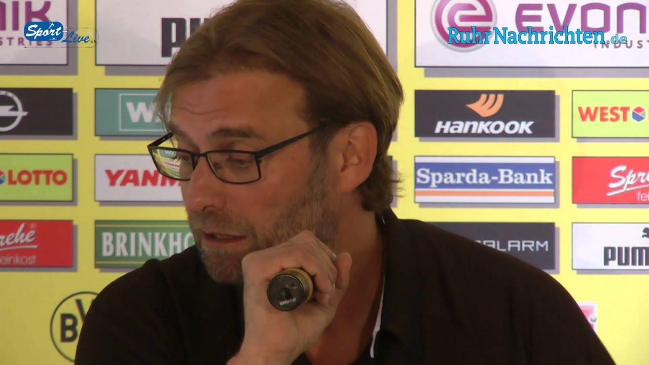 BVB Pressekonferenz vom 20. September 2012 vor dem Spiel Hamburger SV gegen Borussia Dortmund