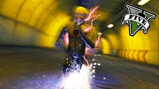 GTA 5 PC - It's Reverse Flash Time ! (Flash Mod Gameplay)