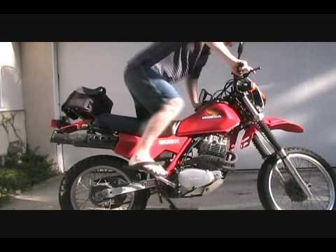 How To Kick Start A Honda XL500R Or XR500 Motorcycle Xl R Wiring Diagram on