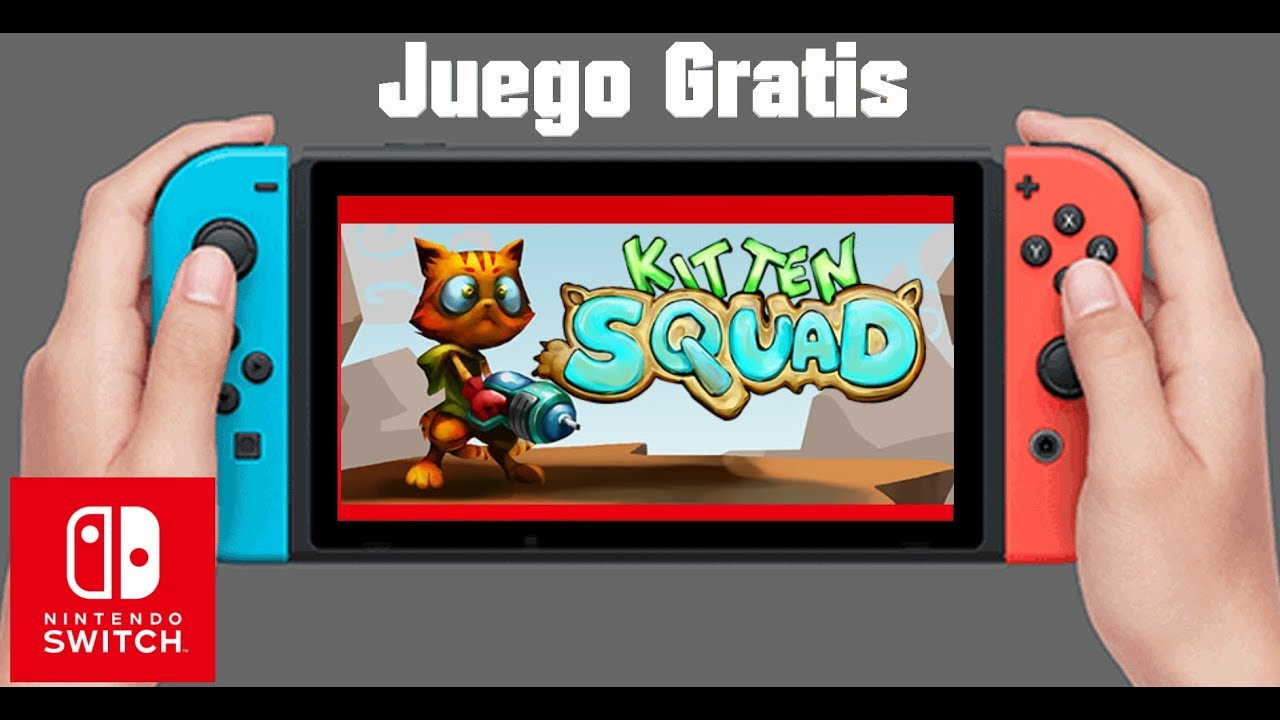 Juego Gratis En Nintendo Switch Kitten Squad Youtube