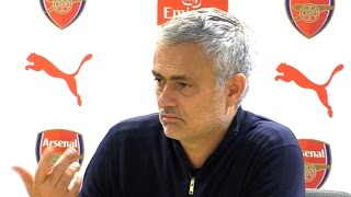 Arsenal 2-0 manchester united - jose mourinho full post match press conference