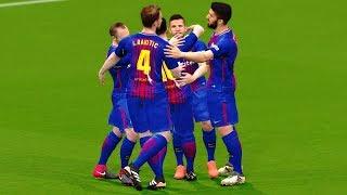 Barcelona vs Celta Vigo Copa del Rey 4 January 2018 Gameplay