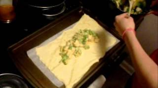 Video 4 Broccoli Chicken Cheese Braid