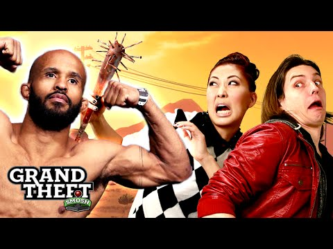 WORST FIGHT EVER WITH UFC'S MIGHTY MOUSE (Grand Theft Smosh)