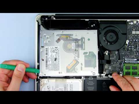 how to install optical drive in mac pro