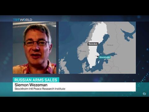 Russian Arms Sales: Interview with Siemon Wezeman from Stockholm Intl Peace Research Institute