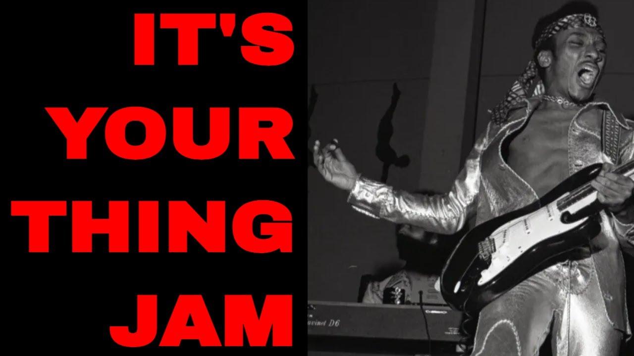 Classic Funk Jam Backing Track [F Minor / F Major - 88 BPM]