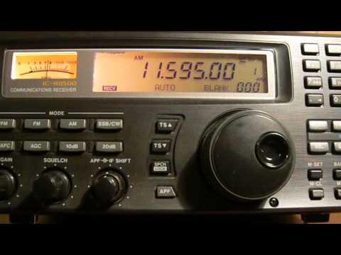 11595khz,Interval Signal,Israel Radio.
