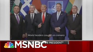 In New Ad, Joe Biden Says World Is Laughing At Trump | Morning Joe | MSNBC