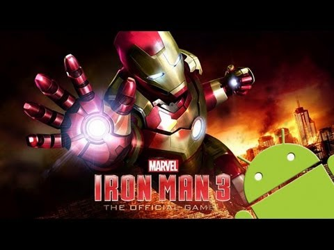 IRON MAN 3 - THE OFFICIAL GAME :: HD ANDROID GAMEPLAY VIDEO :: SAMSUNG GALAXY S2
