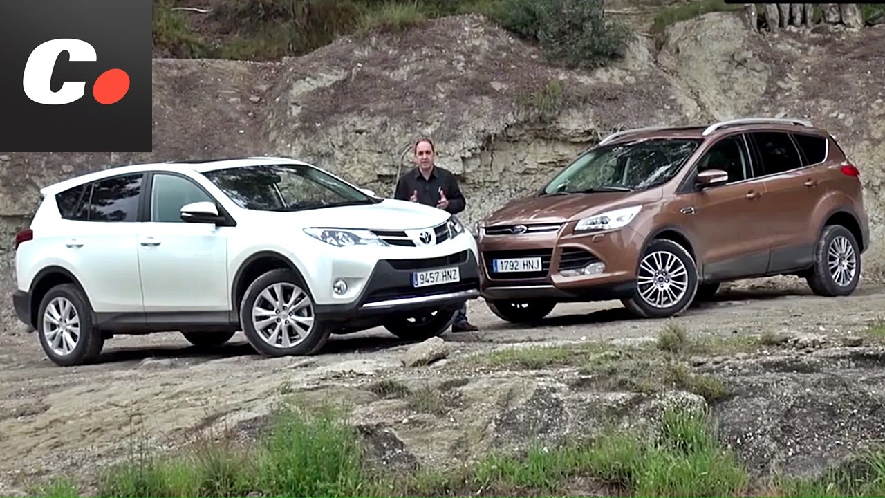 ford kuga vs toyota rav4 prueba suv test review youtube. Black Bedroom Furniture Sets. Home Design Ideas