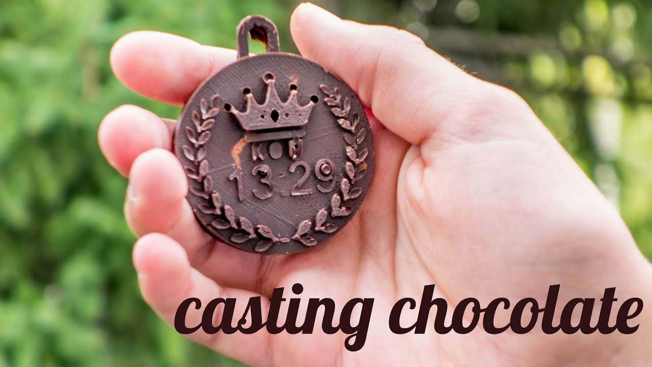 How to make custom chocolate medals!