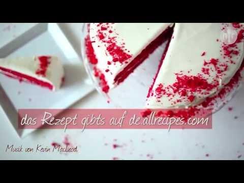 Rezept: Red Velvet Cake (Roter Samtkuchen)