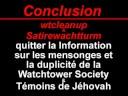 Yahoo/Geocities & Témoins de Jéhovah wtcleanup détruire?