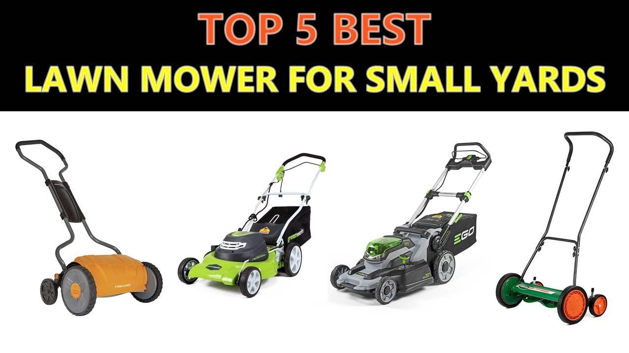 dc12187511f0 Best Lawn Mower for Small Yards - YouTube