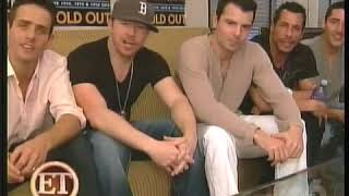 ET New Kids on the Block -  Radio City Music Hall Interview