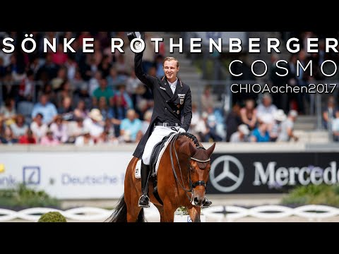 Sönke Rothenberger | Cosmo |Grand Prix Kür|CHIO Aachen 2017
