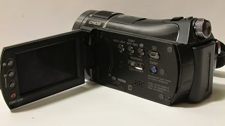 Sony HandyCam HDR-CX7: Unboxing and Test