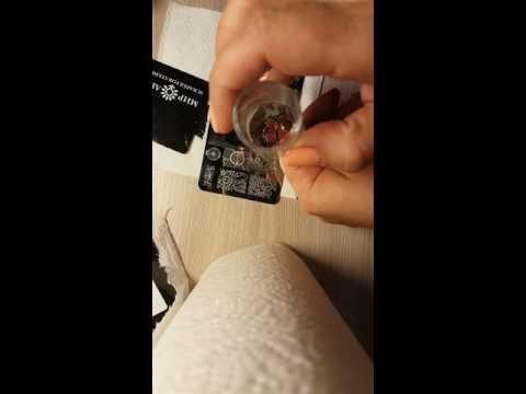Прозрачный штамп для ногтей
