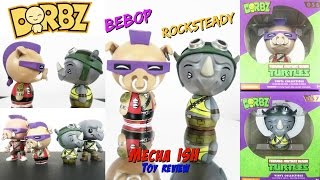 Dorbz TMNT BEBOPROCKSTEADY Teenage Mutant Ninja Turtles 3Collectible Figures Toy Review