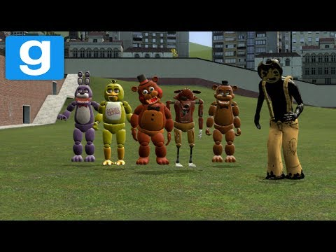 MESSING AROUND WITH FNAF MODS | Garrys Mod