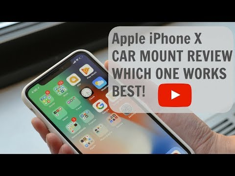 Apple IPhone X CAR MOUNT REVIEW WHICH ONE WORKS BEST!