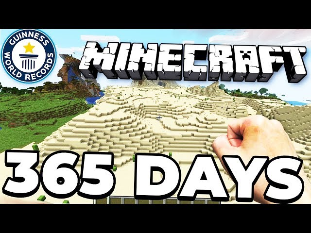Fly around the world in realistic minecraft (World Record)