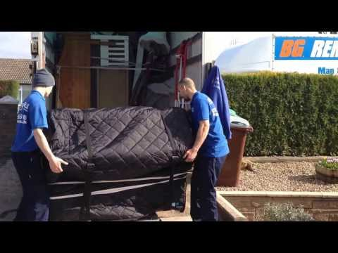 BG Removals on a House Removals Nottingham