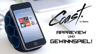 Opera Coast Review + iPhone 5S & iPad Air Giveaway! - felixba