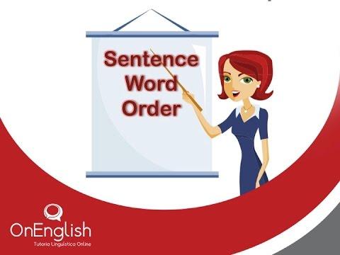 Sentence Word Order