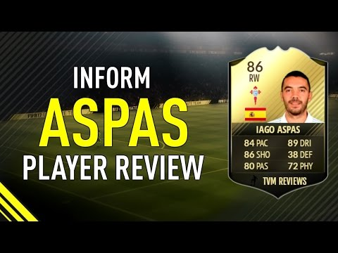 FIFA 17 SIF ASPAS (86) RW PLAYER REVIEW