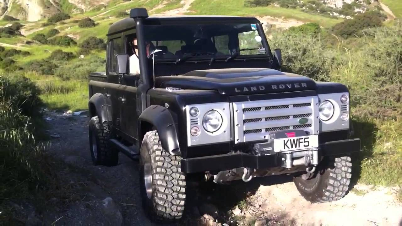 Land Rover Double Cab 110 Tuned Youtube