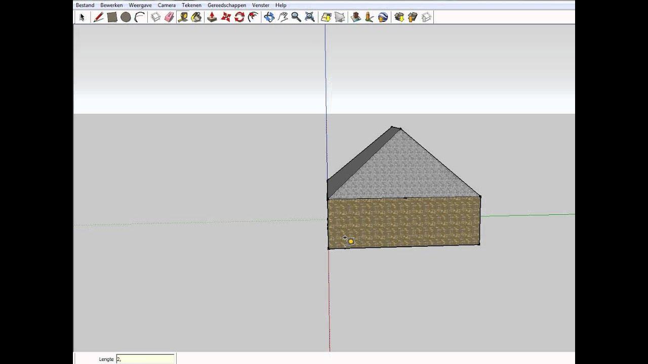 Sketchup ontwerp je eigen huis youtube for Ontwerp eigen huis