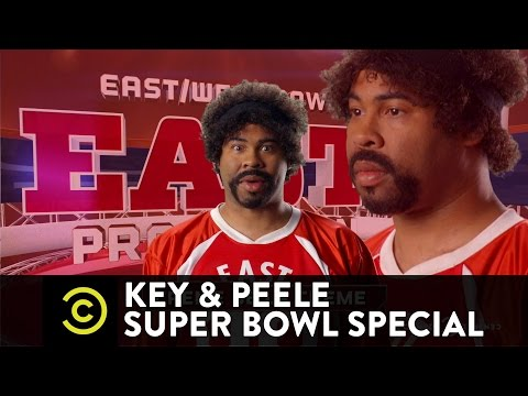 Key & Peele - East/West Bowl 3 - Pro Edition - Super Bowl Special Premieres Friday 10/9c video