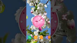 Cherry Blossom Live Wallpaper: Spring 3D Wallpaper - Android Live Wallpaper App Free HOW TO screenshot 4