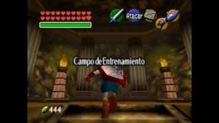 The Legend of Zelda (Ocarina of Time) [056]: Gerudo's Training Ground (ALL KEYS) TODAS LAS LLAVES.
