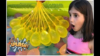 Learn colors for kids with Water Balloons toys / Baby Nursery Rhymes Songs